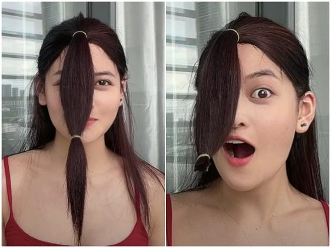 Đu trend Tiktok, Thùy Anh (Tình Yêu Và Tham Vọng) tự cắt tóc layer tại nhà: Cái kết hết hồn nhưng cũng may còn cứu được - Ảnh 6.