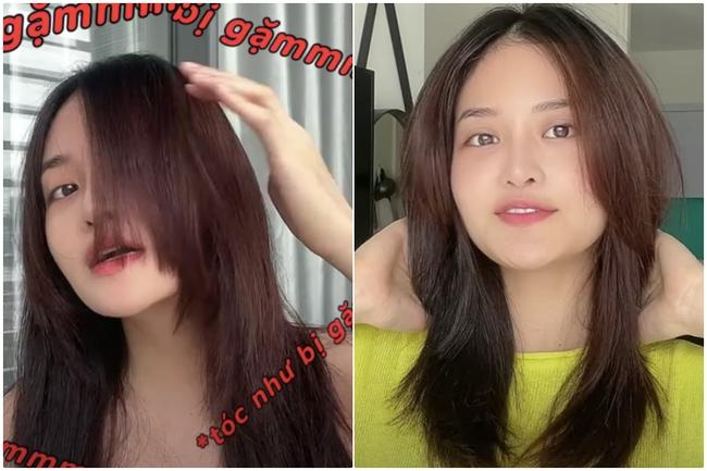 Đu trend Tiktok, Thùy Anh (Tình Yêu Và Tham Vọng) tự cắt tóc layer: Cái kết hết hồn kèm sự thật không phải ai cũng biết - Ảnh 14.
