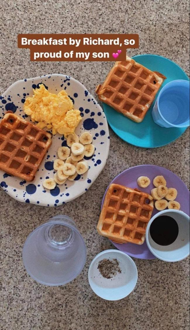 Tăng Thanh Hà khoe bữa sáng do con trai tự làm, thông minh còn chăm chỉ thế này bảo sao ai cũng yêu!  - Ảnh 2.