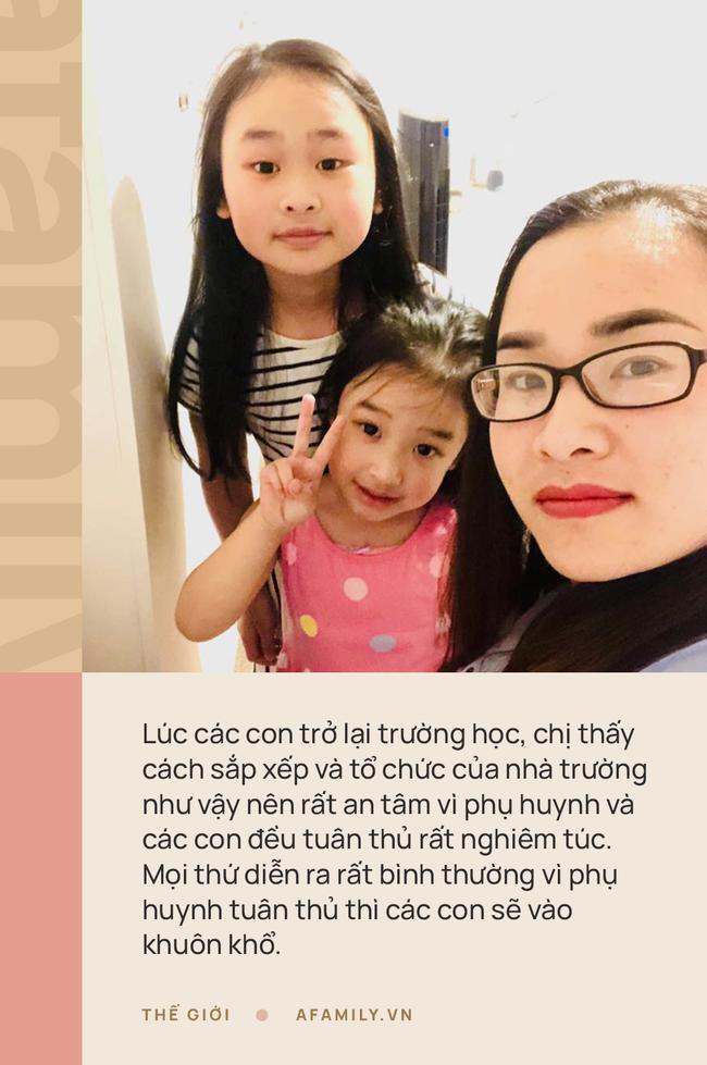 """Mẹ Việt ở Anh chia sẻ cách con đi học thời Covid-19: Nhìn con được đến lớp vui lắm, yên tâm tuyệt đối với mô hình """"trường bong bóng"""" - Ảnh 1."""
