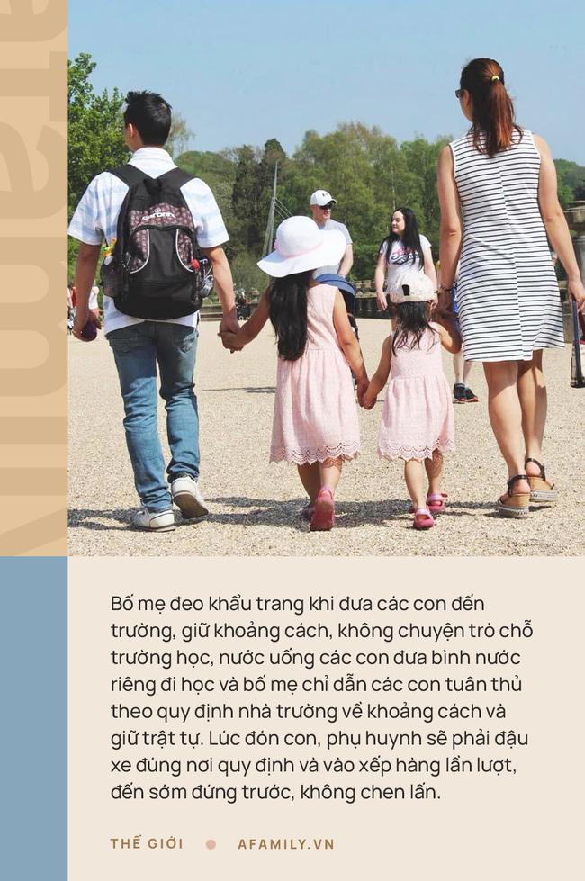 """Mẹ Việt ở Anh chia sẻ cách con đi học thời Covid-19: Nhìn con được đến lớp vui lắm, yên tâm tuyệt đối với mô hình """"trường bong bóng"""" - Ảnh 3."""