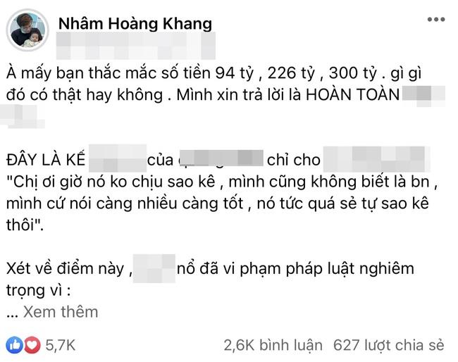 Cậu IT Nhâm Hoàng Khang lại có những tiết lộ bất ngờ về chuyện sao kê quỹ từ thiện ồn ào thời gian qua - Ảnh 1.