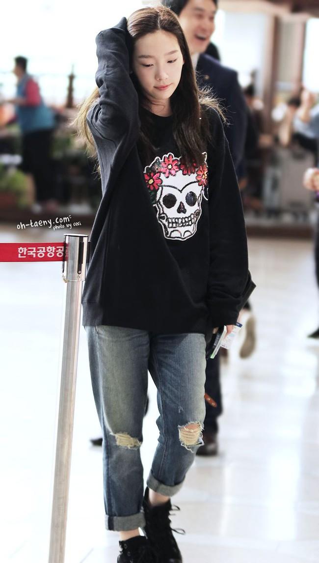 Chị em đừng như Taeyeon: Vóc dáng thấp bé nhưng toàn diện những đôi giày cồng kềnh, khiến chân ngắn hẳn đi - Ảnh 8.