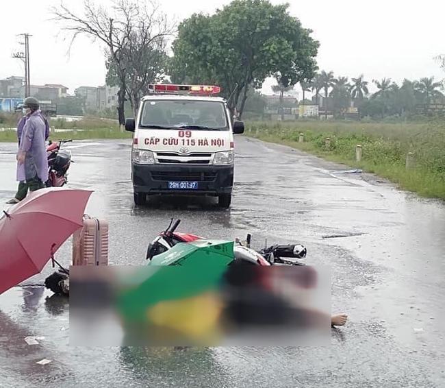 Hà Nội: Đau xót cặp vợ chồng tử vong sau tiếng sét trong con giông - Ảnh 1.