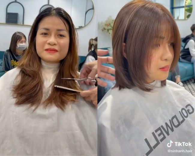 """6 màn """"đổi chiều"""" nhan sắc chứng minh: Chọn đúng kiểu tóc thì cằm vuông hay mặt tròn cũng thành nhỏ gọn, visual tự khắc lên hương - Ảnh 3."""