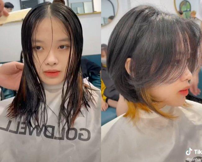"""6 màn """"đổi chiều"""" nhan sắc chứng minh: Chọn đúng kiểu tóc thì cằm vuông hay mặt tròn cũng thành nhỏ gọn, visual tự khắc lên hương - Ảnh 13."""
