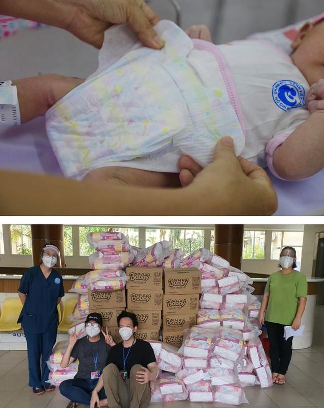 Bobby chung tay đẩy lùi dịch bệnh, sát cánh cùng tuyến đầu chống dịch, hỗ trợ bệnh nhi sơ sinh - Ảnh 3.