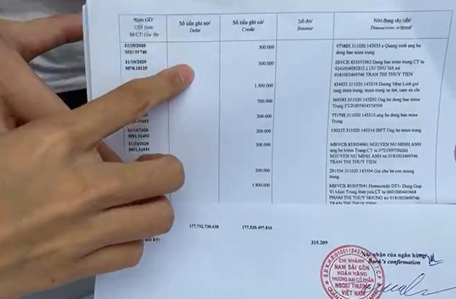 Cập nhật nóng: Công Vinh - Thủy Tiên chính thức livestream công bố sao kê tại ngân hàng - Ảnh 4.