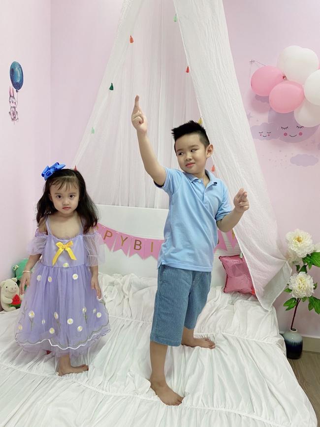 Vy Oanh khoe con gái xinh như búp bê, hé lộ căn phòng cho tiểu công chúa bé nhỏ siêu xinh - Ảnh 5.