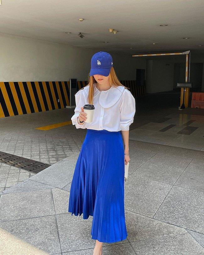 Chị em Yến Trang - Yến Nhi gợi ý 12 cách diện chân váy dài giúp trẻ ra 5 tuổi, mà vẫn chuẩn sang xịn mịn - Ảnh 8.