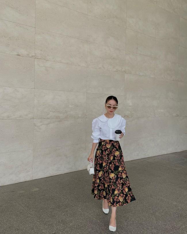 Chị em Yến Trang - Yến Nhi gợi ý 12 cách diện chân váy dài giúp trẻ ra 5 tuổi, mà vẫn chuẩn sang xịn mịn - Ảnh 10.