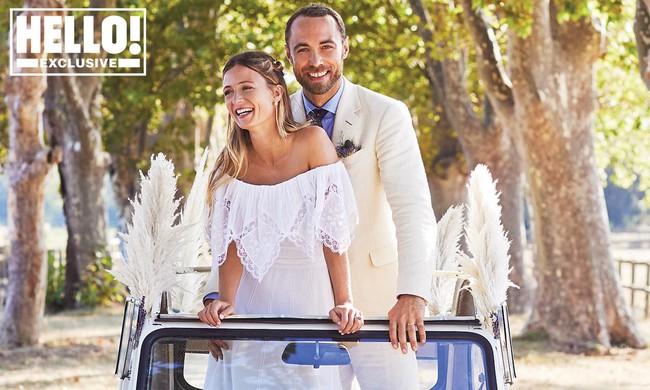 Em trai Công nương Kate tung ảnh cưới, tiết lộ chi tiết về hôn lễ như mơ cho thấy gia đình hoàn mỹ như thế nào - Ảnh 1.