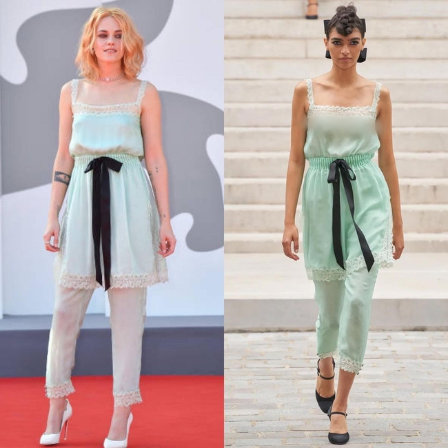 """Chanel phải thầm cảm ơn Kristen Stewart vì mặc """"đồ ngủ"""" mà vẫn đẹp điên lên  - Ảnh 2."""