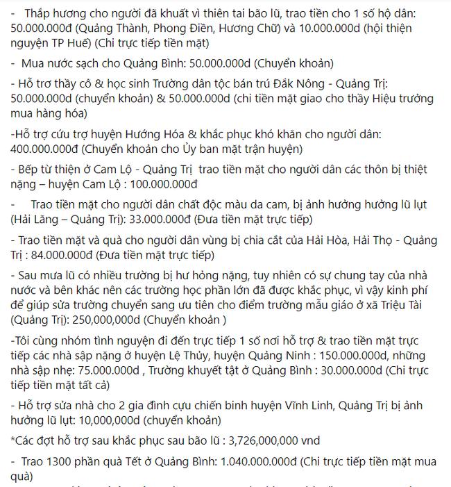 Mẹ Hồ Ngọc Hà chính thức lên tiếng khi bị nhắc tên trong lùm xùm từ thiện của Trấn Thành - Ảnh 4.
