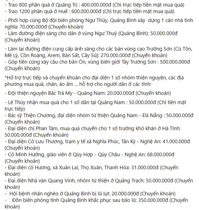 Mẹ Hồ Ngọc Hà chính thức lên tiếng khi bị nhắc tên trong lùm xùm từ thiện của Trấn Thành - Ảnh 5.