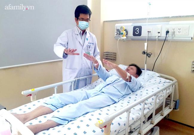 Người đàn ông mới 38 tuổi đã bị đột quỵ: Dấu hiệu nhận biết để kịp thời giữ mạng mùa dịch - Ảnh 1.