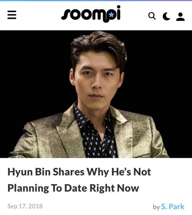 """Hyun Bin lại bị khui loạt bằng chứng nói lời bất nhất: Lên báo thì tuyên bố thích sống độc thân nhưng hint hẹn hò thì """"dày cộm"""" - Ảnh 2."""