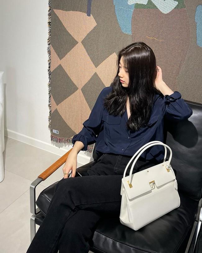 Suzy bao năm chỉ trung thành với style tối giản, nhờ vậy mà luôn ghi điểm phong cách - Ảnh 6.