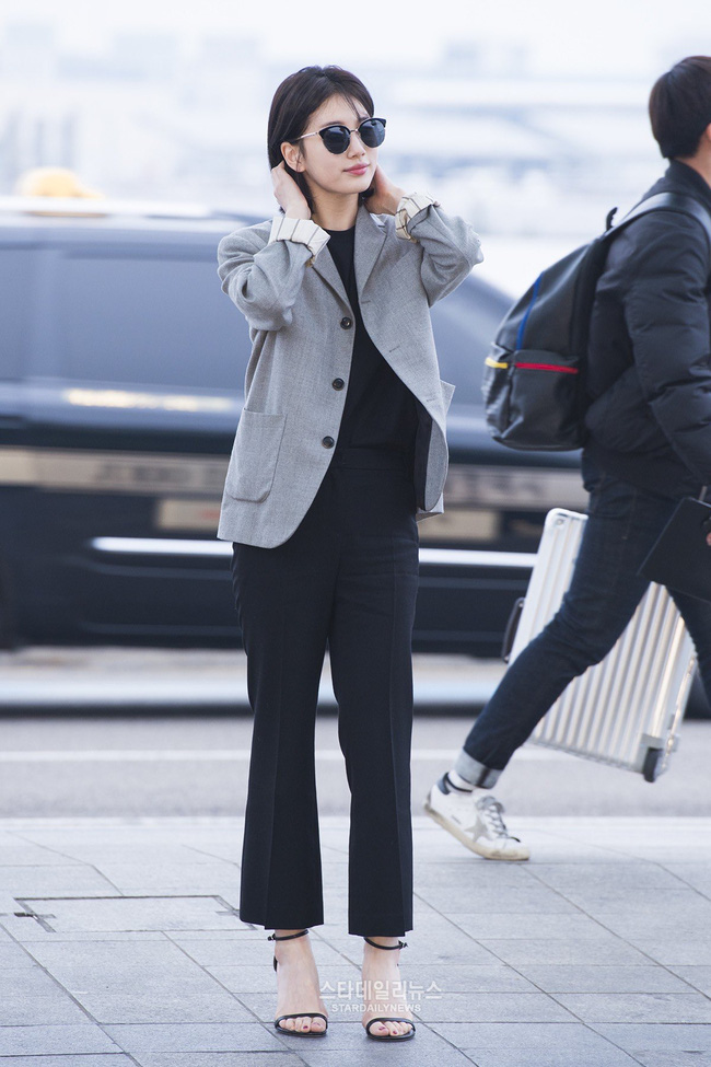 Suzy bao năm chỉ trung thành với style tối giản, nhờ vậy mà luôn ghi điểm phong cách - Ảnh 9.