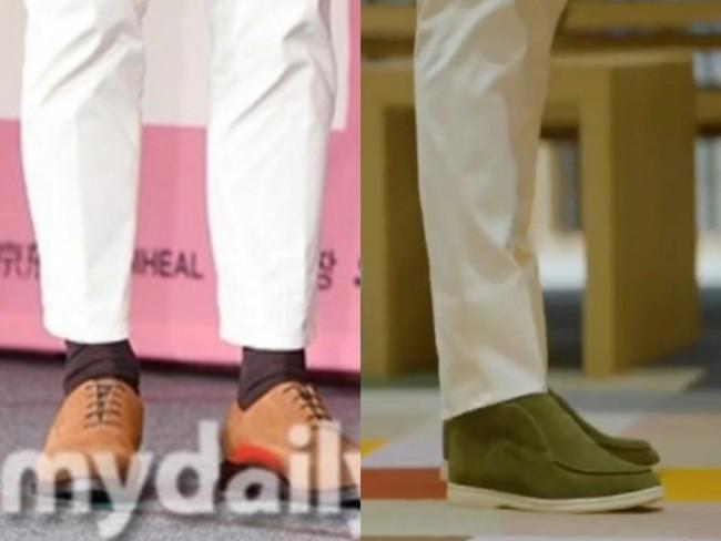 Hyun Bin bị soi mặc lại đồ cũ nhưng gây chú ý lại là chi tiết có liên quan đến Son Ye Jin, fan thảng thốt: Đúng là có người yêu khác hẳn - Ảnh 4.