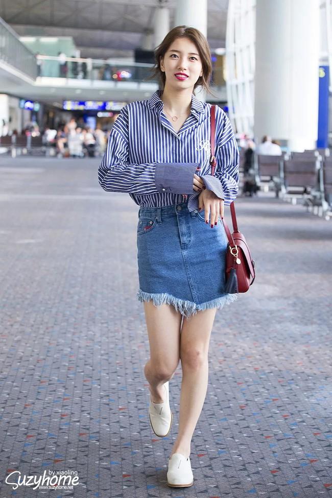 Suzy bao năm chỉ trung thành với style tối giản, nhờ vậy mà luôn ghi điểm phong cách - Ảnh 13.