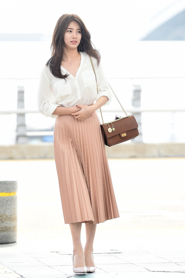 Suzy bao năm chỉ trung thành với style tối giản, nhờ vậy mà luôn ghi điểm phong cách - Ảnh 12.