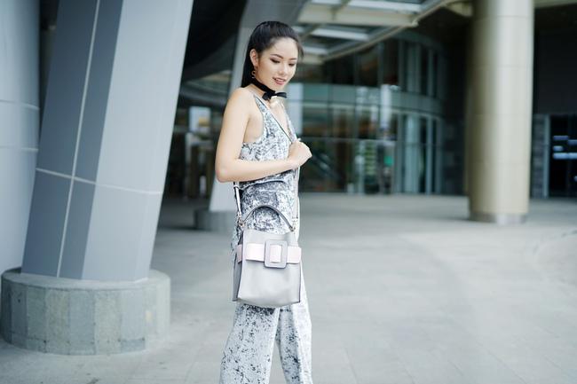 Street style đầy màu sắc mùa lễ hội của các quý cô Châu Á - Ảnh 6.