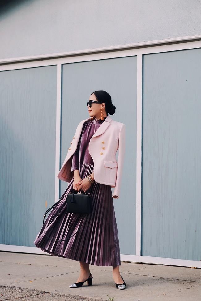 Street style đầy màu sắc mùa lễ hội của các quý cô Châu Á - Ảnh 8.