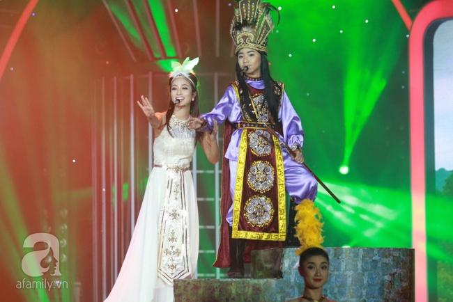 Khiến Hoài Linh thán phục, cô bé 7 tuổi trở thành Quán quân Gương mặt thân quen nhí - Ảnh 11.