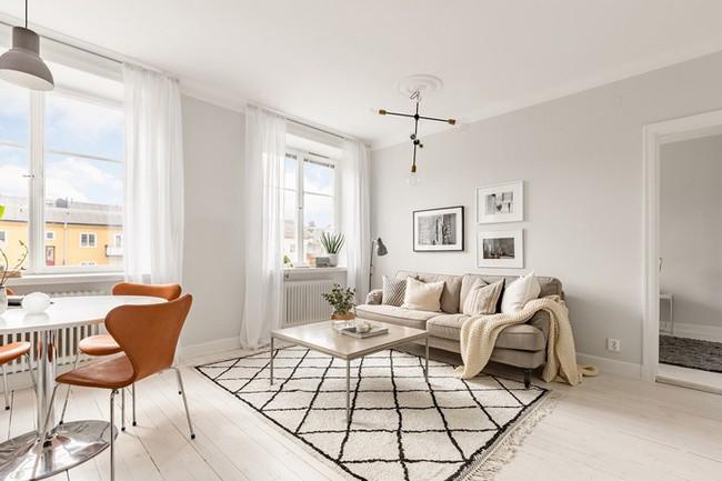 Những mẫu phòng khách đẹp phù hợp với các căn hộ 50m² - Ảnh 5.