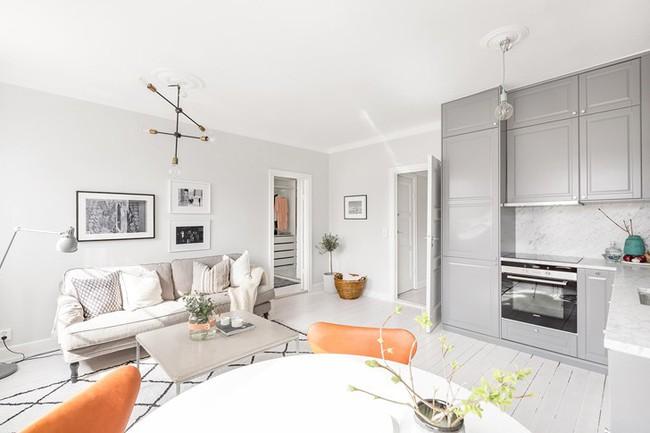 Những mẫu phòng khách đẹp phù hợp với các căn hộ 50m² - Ảnh 6.