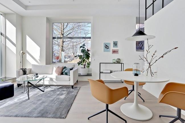 Những mẫu phòng khách đẹp phù hợp với các căn hộ 50m² - Ảnh 8.