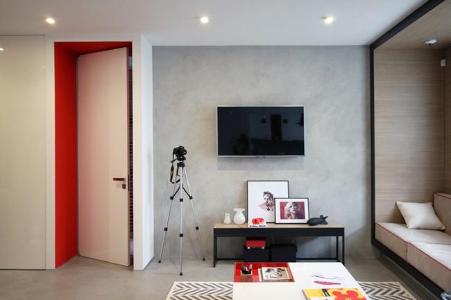 Những mẫu phòng khách đẹp phù hợp với các căn hộ 50m² - Ảnh 11.