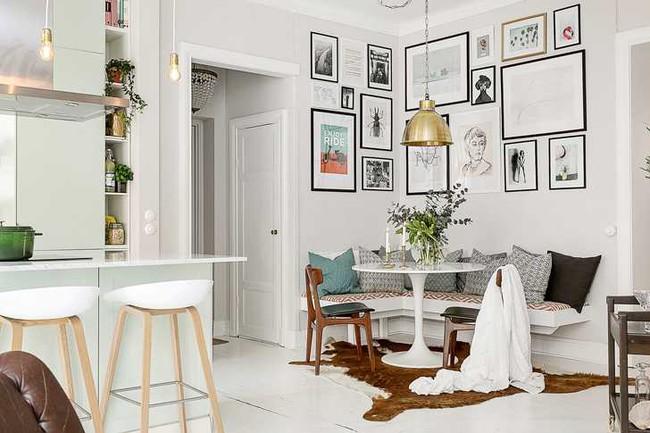 Những mẫu phòng khách đẹp phù hợp với các căn hộ 50m² - Ảnh 14.