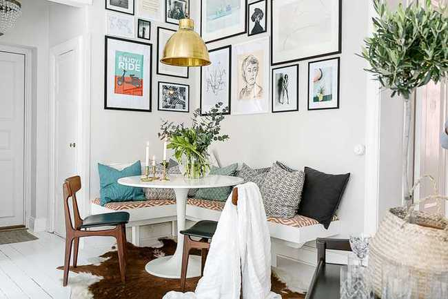 Những mẫu phòng khách đẹp phù hợp với các căn hộ 50m² - Ảnh 15.