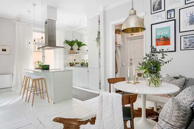 Những mẫu phòng khách đẹp phù hợp với các căn hộ 50m² - Ảnh 16.