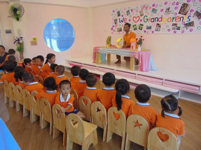 Những trường mầm non không chê vào đâu được ở quận Cầu Giấy, Hà Nội - Ảnh 1.