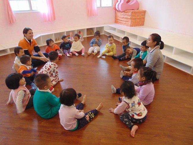 Những trường mầm non không chê vào đâu được ở quận Cầu Giấy, Hà Nội - Ảnh 3.