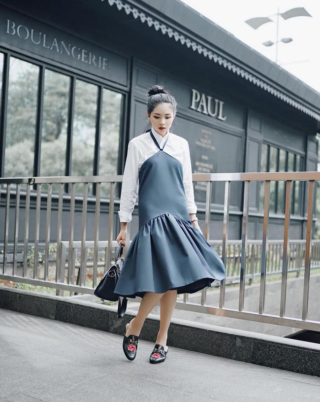Street style đầy màu sắc mùa lễ hội của các quý cô Châu Á - Ảnh 14.