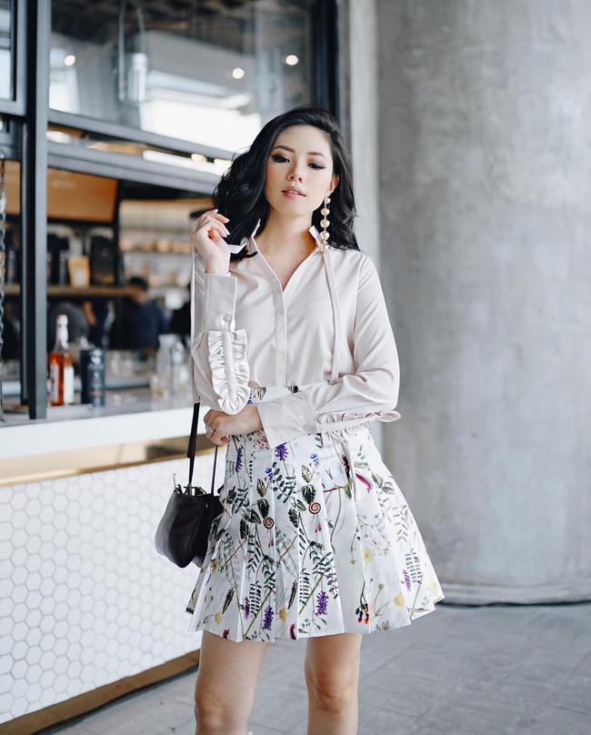 Street style đầy màu sắc mùa lễ hội của các quý cô Châu Á - Ảnh 15.