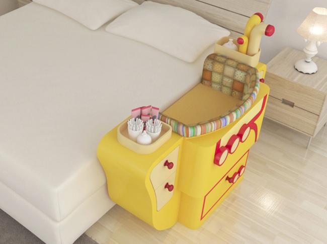 Giường cũi thông minh - món đồ nội thất bà mẹ nào có con nhỏ cũng thích - Ảnh 4.