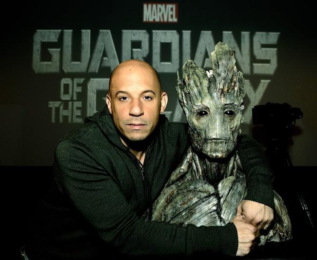 """Vin Diesel """"trưởng thành"""" cùng người cây Groot trong Vệ binh dải ngân hà 2 - Ảnh 1."""