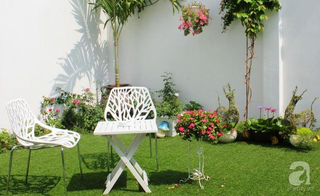 Ngôi nhà vườn rộng 200m² nhìn đâu cũng thấy cây và hoa rực rỡ ở TP HCM - Ảnh 12.