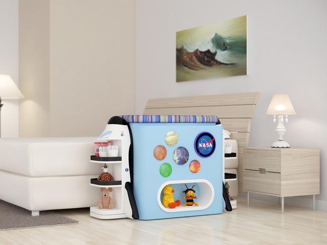 Giường cũi thông minh - món đồ nội thất bà mẹ nào có con nhỏ cũng thích - Ảnh 23.