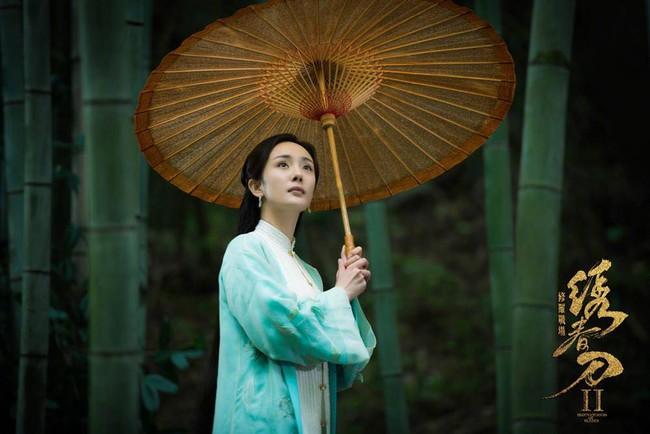 Dương Mịch áo xanh giản dị, đẹp dịu dàng giữa khung cảnh thiên nhiên - Ảnh 3.