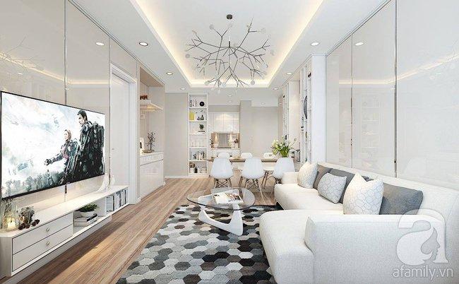 Với 217 triệu, KTS đã biến căn hộ từ chỗ không thể cải tạo kết cấu trở nên đẹp bất ngờ - Ảnh 4.