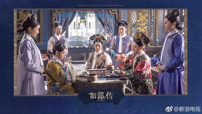 Hoàng hậu Châu Tấn đẹp quyền lực, đánh bật cả dàn mỹ nữ hậu cung đình đám - Ảnh 5.
