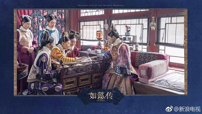 Hoàng hậu Châu Tấn đẹp quyền lực, đánh bật cả dàn mỹ nữ hậu cung đình đám - Ảnh 8.