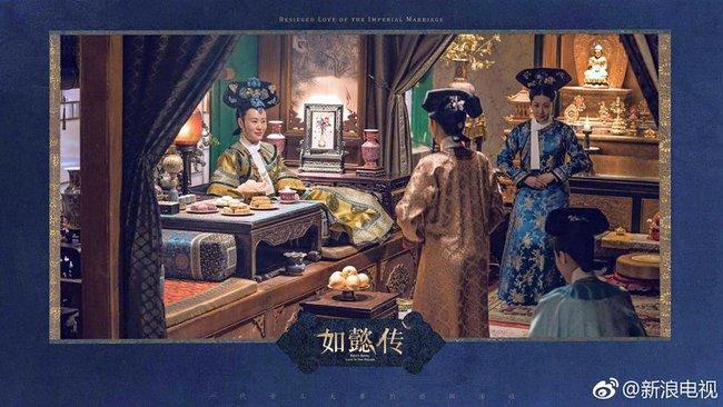 Hoàng hậu Châu Tấn đẹp quyền lực, đánh bật cả dàn mỹ nữ hậu cung đình đám - Ảnh 10.