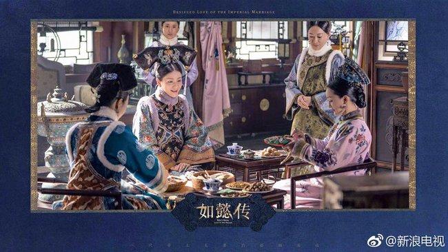 Hoàng hậu Châu Tấn đẹp quyền lực, đánh bật cả dàn mỹ nữ hậu cung đình đám - Ảnh 11.